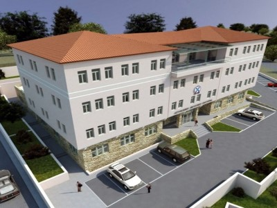New police headquarters building of Kastoria