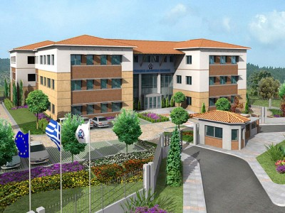 New police headquarters building of Kozani